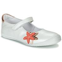 Čevlji  Deklice Balerinke GBB EMILIETTE Bela