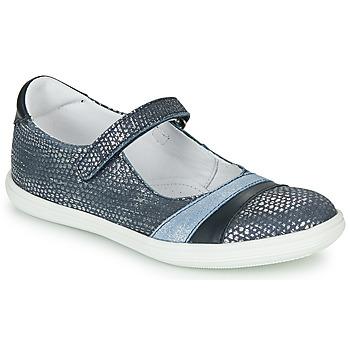 Čevlji  Deklice Balerinke GBB ECOPA Modra
