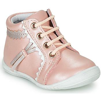 Čevlji  Deklice Visoke superge GBB ACINTA Rožnata
