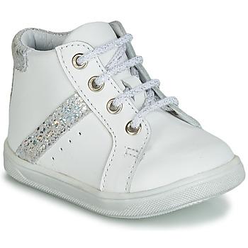 Čevlji  Deklice Visoke superge GBB AGLAE Bela