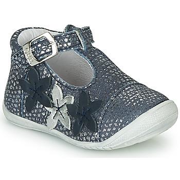 Čevlji  Deklice Balerinke GBB AGATTA Modra