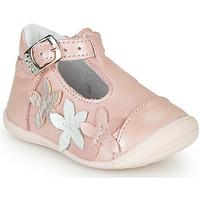 Čevlji  Deklice Balerinke GBB AGATTA Rožnata