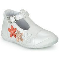 Čevlji  Deklice Balerinke GBB AGATTA Bela