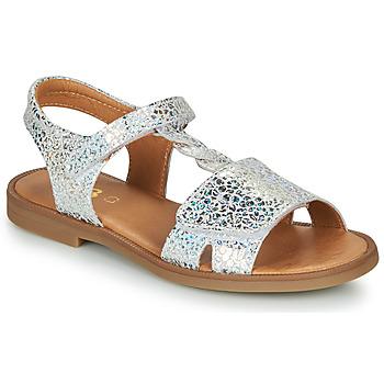 Čevlji  Deklice Sandali & Odprti čevlji GBB FARENA Srebrna