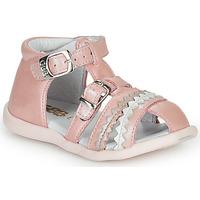 Čevlji  Deklice Sandali & Odprti čevlji GBB ALIDA Rožnata