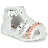 Čevlji  Deklice Sandali & Odprti čevlji GBB ALIDA Bela
