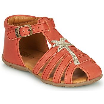 Čevlji  Deklice Sandali & Odprti čevlji GBB ANAYA Koralna