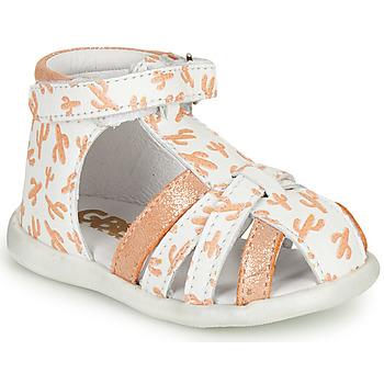 Čevlji  Deklice Sandali & Odprti čevlji GBB AGRIPINE Oranžna