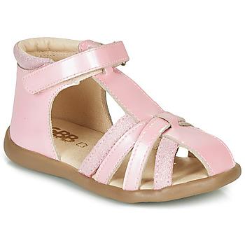 Čevlji  Deklice Sandali & Odprti čevlji GBB AGRIPINE Rožnata