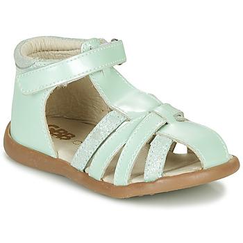 Čevlji  Deklice Sandali & Odprti čevlji GBB AGRIPINE Zelena
