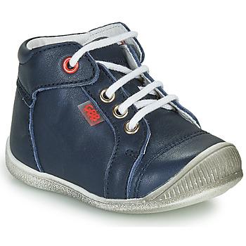 Čevlji  Dečki Visoke superge GBB PARGA Modra