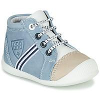 Čevlji  Dečki Visoke superge GBB GABRI Modra