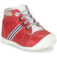 Čevlji  Dečki Visoke superge GBB GABRI Rdeča