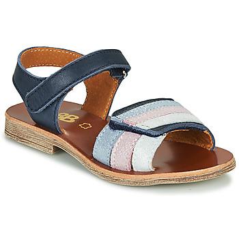 Čevlji  Deklice Sandali & Odprti čevlji GBB MIMOSA Modra