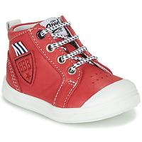 Čevlji  Dečki Visoke superge GBB GREGOR Rdeča