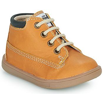 Čevlji  Dečki Visoke superge GBB NORMAN Oranžna
