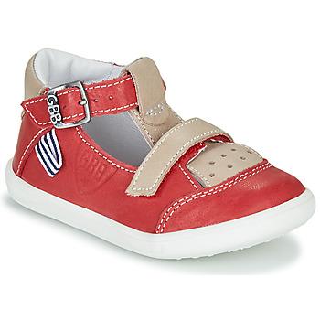 Čevlji  Dečki Sandali & Odprti čevlji GBB BERETO Rdeča
