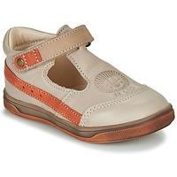 Čevlji  Dečki Sandali & Odprti čevlji GBB ANGOR Bež / Oranžna