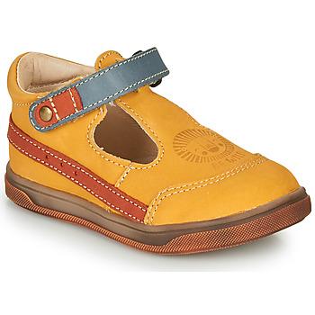 Čevlji  Dečki Sandali & Odprti čevlji GBB ANGOR Rumena