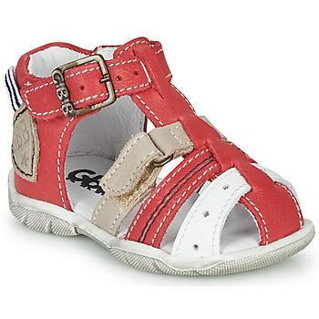Čevlji  Dečki Sandali & Odprti čevlji GBB BYZANTE Rdeča