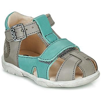 Čevlji  Dečki Sandali & Odprti čevlji GBB SEROLO Siva / Modra