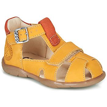 Čevlji  Dečki Sandali & Odprti čevlji GBB SEROLO Rumena / Oranžna