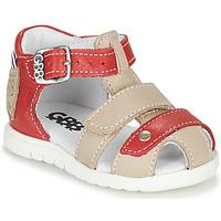 Čevlji  Dečki Sandali & Odprti čevlji GBB BASILA Rdeča / Bež