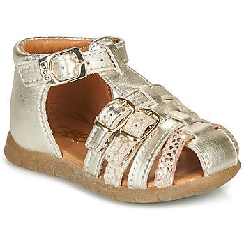 Čevlji  Deklice Sandali & Odprti čevlji GBB PERLE Pozlačena