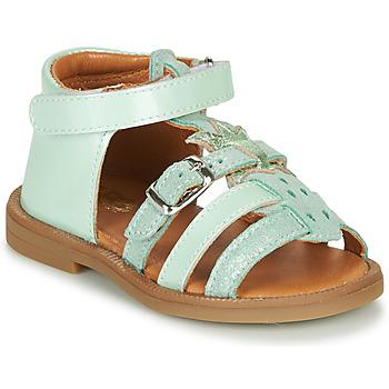 Čevlji  Deklice Sandali & Odprti čevlji GBB CARETTE Zelena