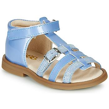 Čevlji  Deklice Sandali & Odprti čevlji GBB ANTIGA Modra