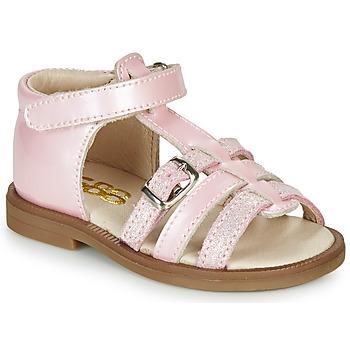 Čevlji  Deklice Sandali & Odprti čevlji GBB ANTIGA Rožnata