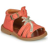 Čevlji  Deklice Sandali & Odprti čevlji GBB ARAGA Koralna