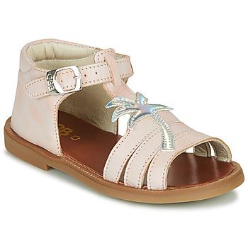 Čevlji  Deklice Sandali & Odprti čevlji GBB ARAGA Rožnata