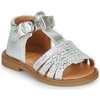 Čevlji  Deklice Sandali & Odprti čevlji GBB ATECA Srebrna