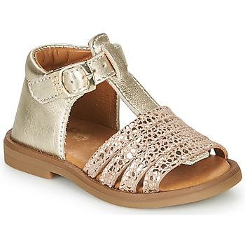 Čevlji  Deklice Sandali & Odprti čevlji GBB ATECA Pozlačena