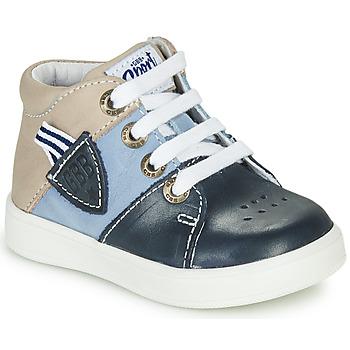 Čevlji  Dečki Visoke superge GBB AMOS Modra