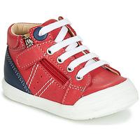 Čevlji  Dečki Visoke superge GBB ANATOLE Rdeča