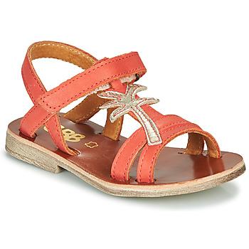 Čevlji  Deklice Sandali & Odprti čevlji GBB SAPELA Koralna