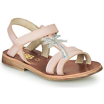 Čevlji  Deklice Sandali & Odprti čevlji GBB SAPELA Rožnata