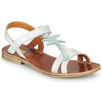 Čevlji  Deklice Sandali & Odprti čevlji GBB SAPELA Bela