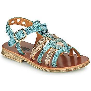 Čevlji  Deklice Sandali & Odprti čevlji GBB FANNI Modra