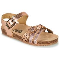 Čevlji  Deklice Sandali & Odprti čevlji GBB PANORA Rožnata / Zlata