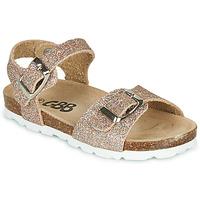 Čevlji  Deklice Sandali & Odprti čevlji GBB PIPPA Rožnata / Zlata