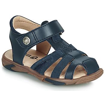 Čevlji  Dečki Sandali & Odprti čevlji GBB LUCA Modra