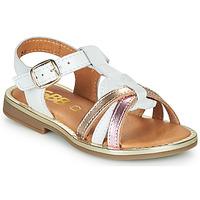 Čevlji  Deklice Sandali & Odprti čevlji GBB EGEA Bela