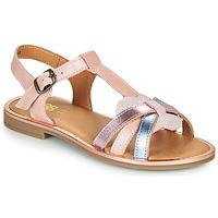 Čevlji  Deklice Sandali & Odprti čevlji GBB EGEA Rožnata