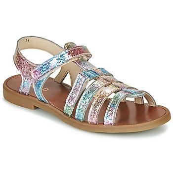 Čevlji  Deklice Sandali & Odprti čevlji GBB KATAGAMI Rožnata / Večbarvna