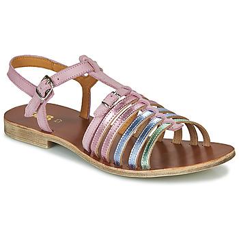 Čevlji  Deklice Sandali & Odprti čevlji GBB BANGKOK Rožnata
