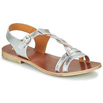 Čevlji  Deklice Sandali & Odprti čevlji GBB EUGENA Srebrna