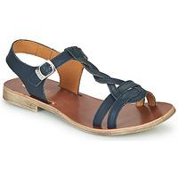 Čevlji  Deklice Sandali & Odprti čevlji GBB EUGENA Modra